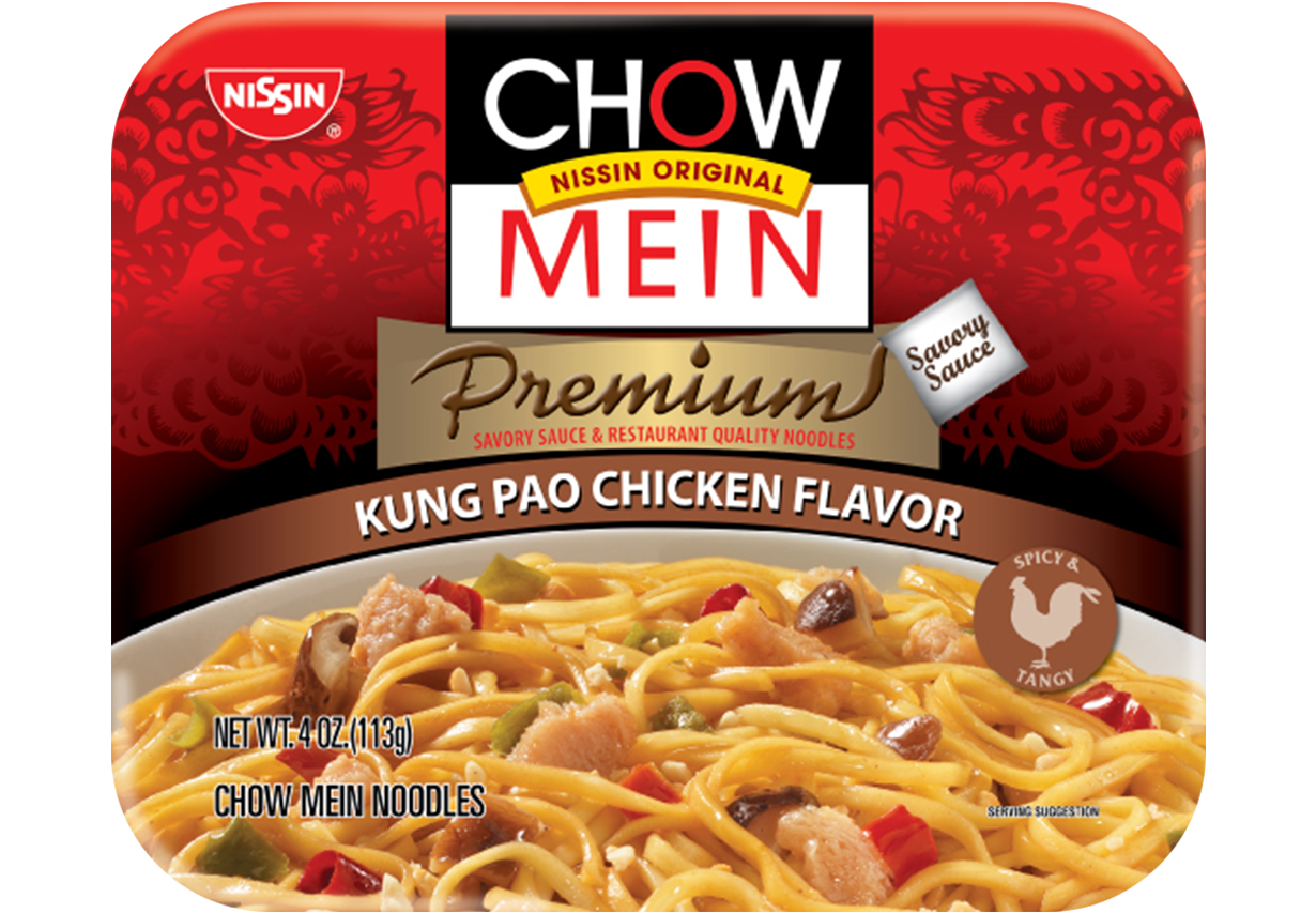 nissin chow mein kung pao chicken flavor
