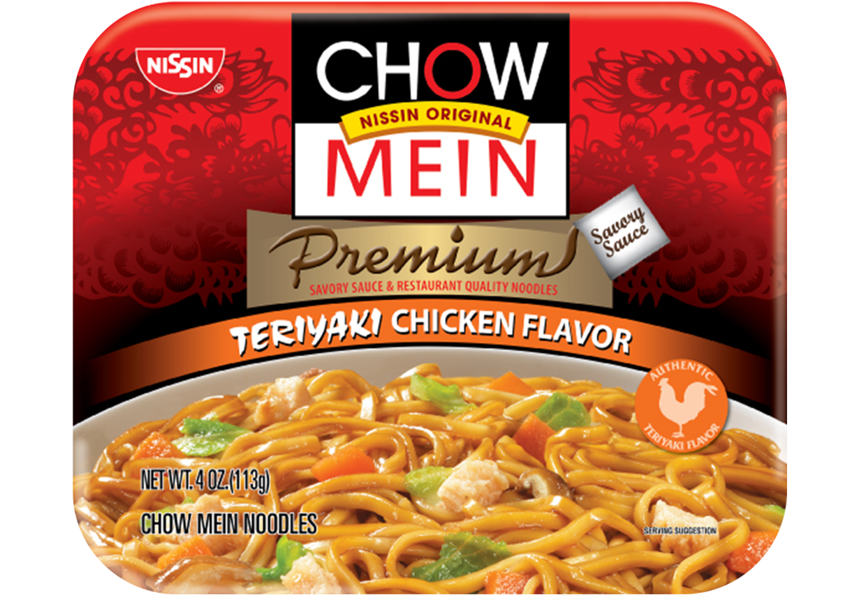 Chow Mein Teriyaki Chicken