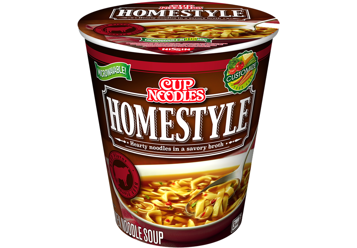 cup noodles homestyle beef flavor