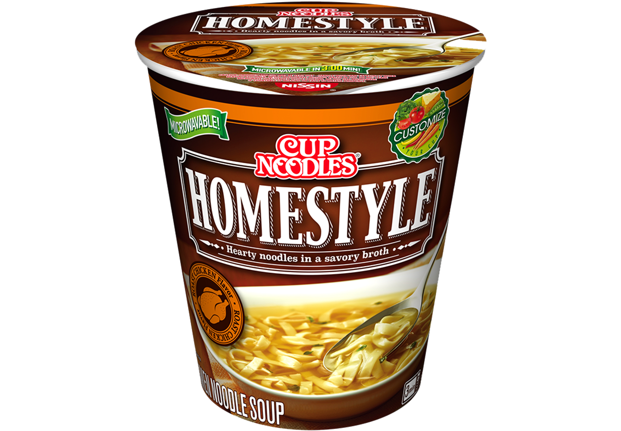 cup noodles homestyle roast chicken flavor
