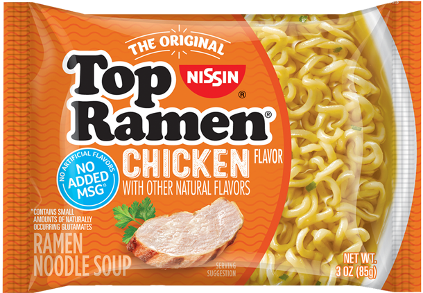 top ramen chicken flavor