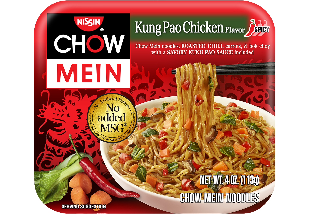 70662 08727 Chow Mein Kung Pao Chicken