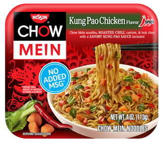 Chow Mein Kung Pao Chicken Front 328X287
