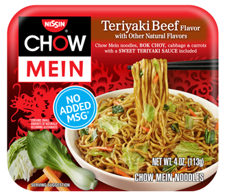 Chow Mein Teriyaki Beef Front 328X287