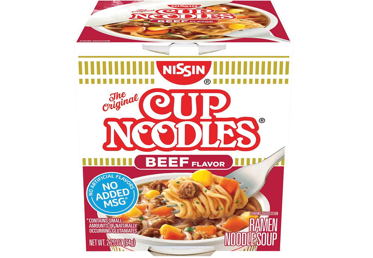 photo relating to Noodles and Company Printable Menu called Nissin Cup Noodles The first ramen in just a cup