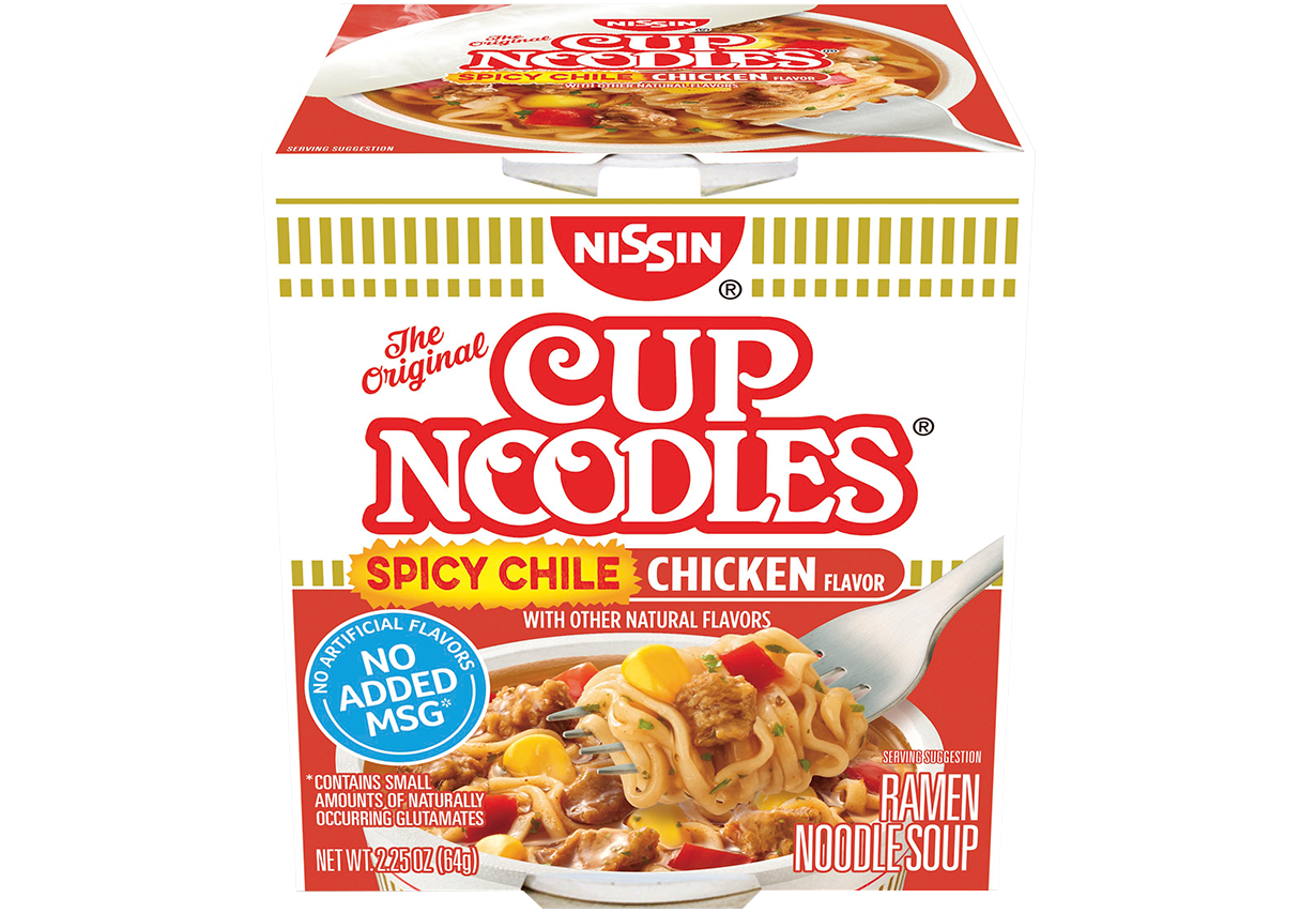 70662 03011 Cup Noodles Spicy Chile Chicken Unit