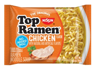 Top Ramen Chicken Pillow Front 328X252