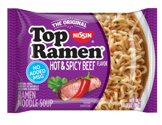 Top Ramen Hot Spicy Beef Pillow Front 328X252