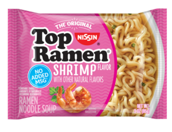 Top Ramen Shrimp Pillow Front 328X252